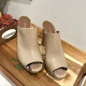 Donald J Pliner Jett Mule Sandal Size 10 Leather